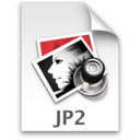 128x128px size png icon of JP2