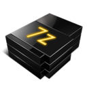 128x128px size png icon of 7z file