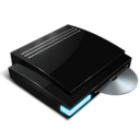 128x128px size png icon of Dvd drive