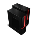128x128px size png icon of Network drive connected