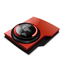 128x128px size png icon of Url history