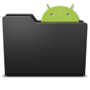 128x128px size png icon of android 3