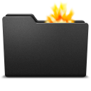 128x128px size png icon of fire