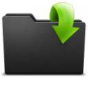128x128px size png icon of out