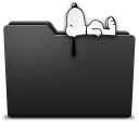 128x128px size png icon of snoopy