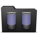 128x128px size png icon of speaker 2