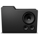 128x128px size png icon of speaker 3