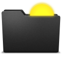 128x128px size png icon of sun
