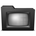 128x128px size png icon of tv 2