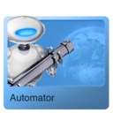 128x128px size png icon of Automator