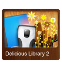 128x128px size png icon of Delicious Library 2v1