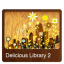 128x128px size png icon of Delicious Library 2v2