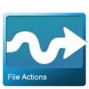 128x128px size png icon of File actions