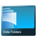 128x128px size png icon of Hide folders