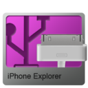 128x128px size png icon of iPhone Explorer
