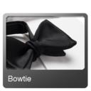 128x128px size png icon of Bowtie