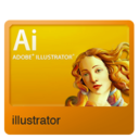 128x128px size png icon of Illustrator