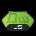 128x128px size png icon of Adobe dreamweaver js v2