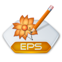 128x128px size png icon of Adobe illustrator eps