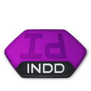 128x128px size png icon of Adobe indesign indd v2