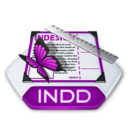 128x128px size png icon of Adobe indesign indd