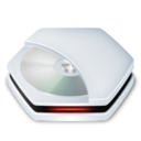 128x128px size png icon of Drive CDRom