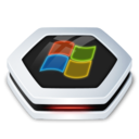 128x128px size png icon of Drive Drive Windows