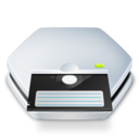 128x128px size png icon of Drive Floppy 5 25