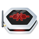 128x128px size png icon of Drive NetworkDrive Offline