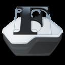 128x128px size png icon of Folder fonts folder