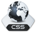 128x128px size png icon of Internet css