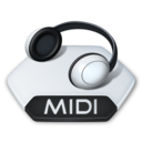 128x128px size png icon of Media music midi