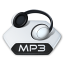 128x128px size png icon of Media music mp 3
