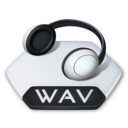 128x128px size png icon of Media music wav