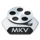 128x128px size png icon of Media video mkv