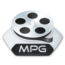 128x128px size png icon of Media video mpg