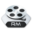 128x128px size png icon of Media video rm