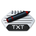 128x128px size png icon of Misc file txt