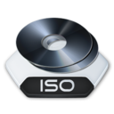 128x128px size png icon of Misc image iso