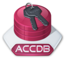 128x128px size png icon of Office access accdb