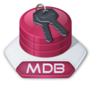 128x128px size png icon of Office access mdb