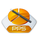 Office powerpoint pps Icon