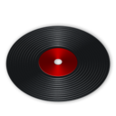 128x128px size png icon of System audio cd