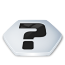128x128px size png icon of System help