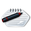 128x128px size png icon of System notepad