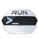 128x128px size png icon of System run