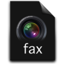 128x128px size png icon of fax
