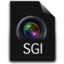 128x128px size png icon of sgi