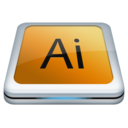 128x128px size png icon of Adobe Ai