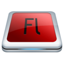 128x128px size png icon of Adobe Fl